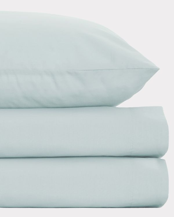 Non Iron Percale Flat Sheet 180 Thread Count - Double