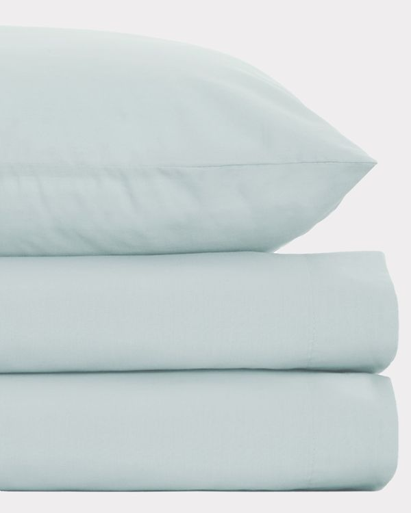 Non Iron Percale Flat Sheet 180 Thread Count - King Size