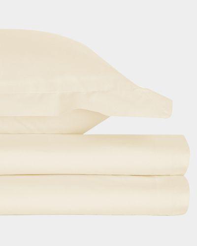 Pure Cotton Flannelette Flat Sheet - Single