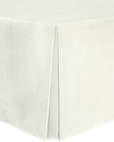Non Iron Percale Valance 180 Thread Count - King Size