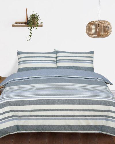 Herringbone Stripe Print Duvet