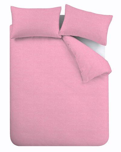 Jersey Duvet Set Pink