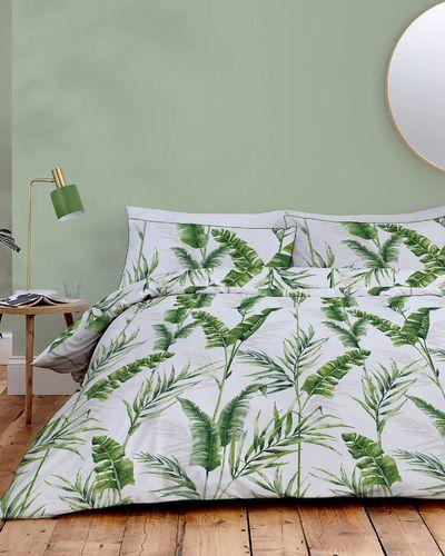 Palm Leaf Duvet Set thumbnail