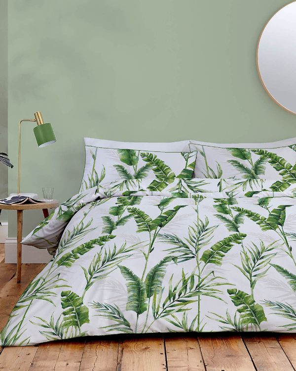 Palm Leaf Duvet Set