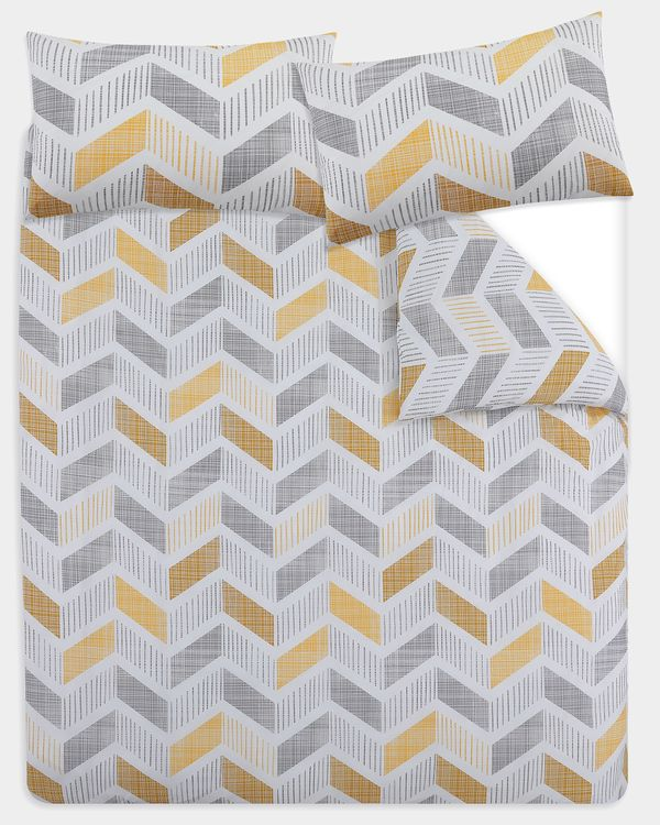 Chevron Duvet Set