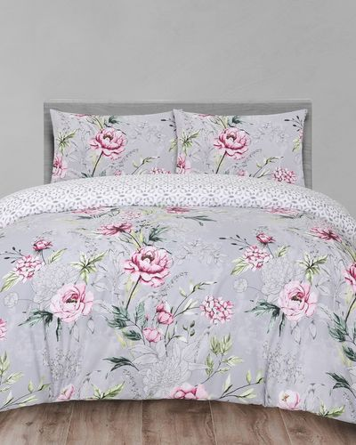 Sketch Floral Duvet Set