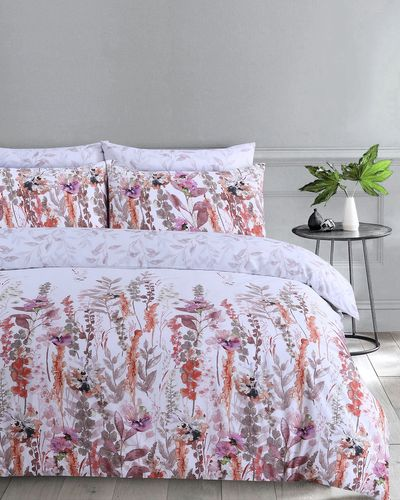 Watercolour Leaf Duvet Set