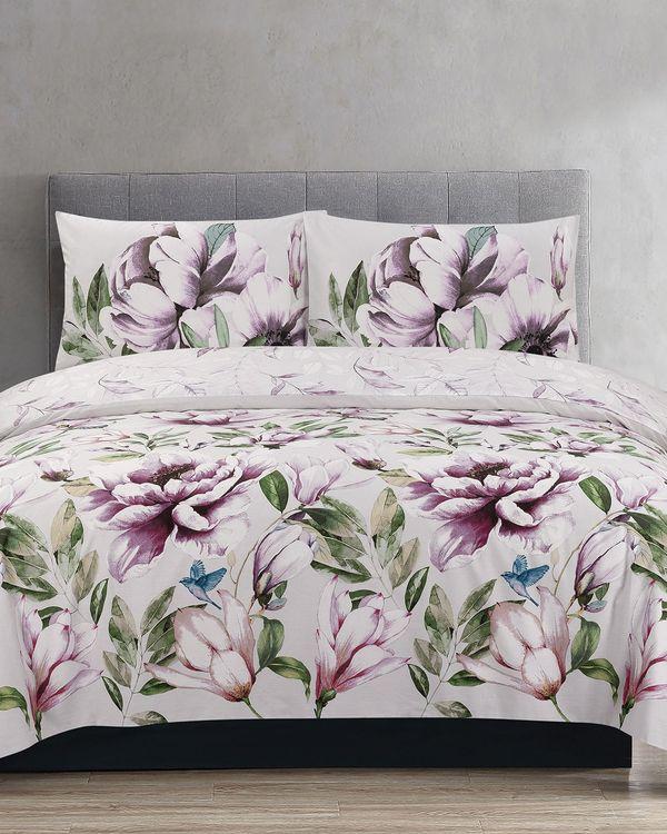 Bird Floral Duvet Set