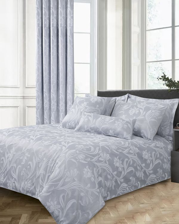 Bloom Jacquard Duvet Set