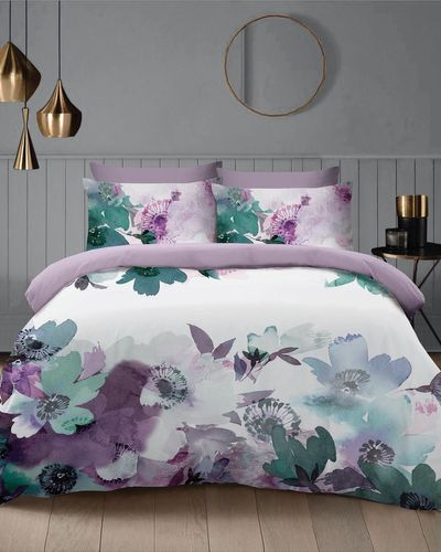 Painterly Floral Duvet Set