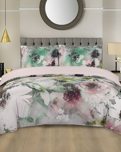Abstract Floral Duvet Set