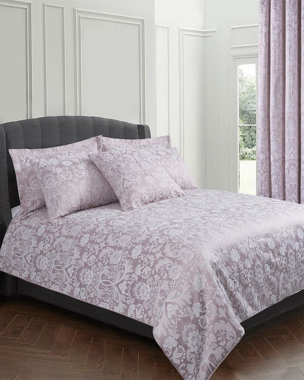 Floral Jacquard Duvet Set