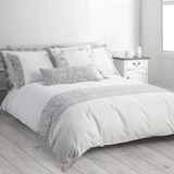 grey Carrie Duvet Set