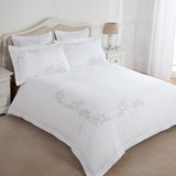 white Nevada Duvet Cover