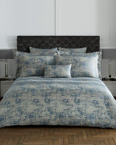 Abstract Jacquard Duvet Cover