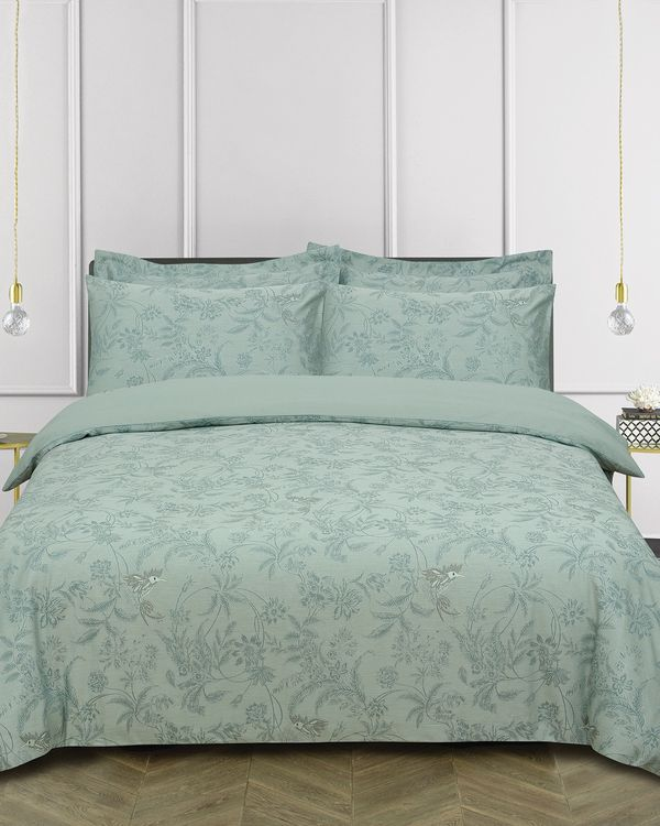 Bird Jacquard Duvet Cover