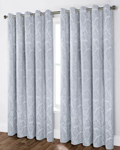 Leaf Jacquard Curtain