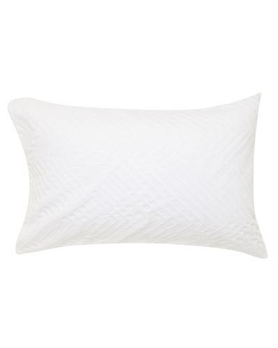 Geo Jacquard Pillowcase - Pack Of 2