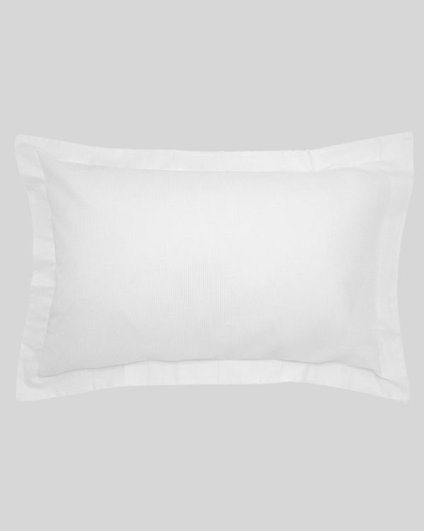 Waffle Oxford Pillowcase - Pack Of 2