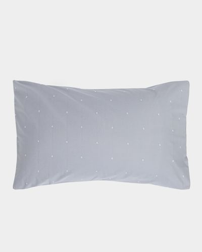 Clip Dot Standard Pillowcase - Pack Of 2