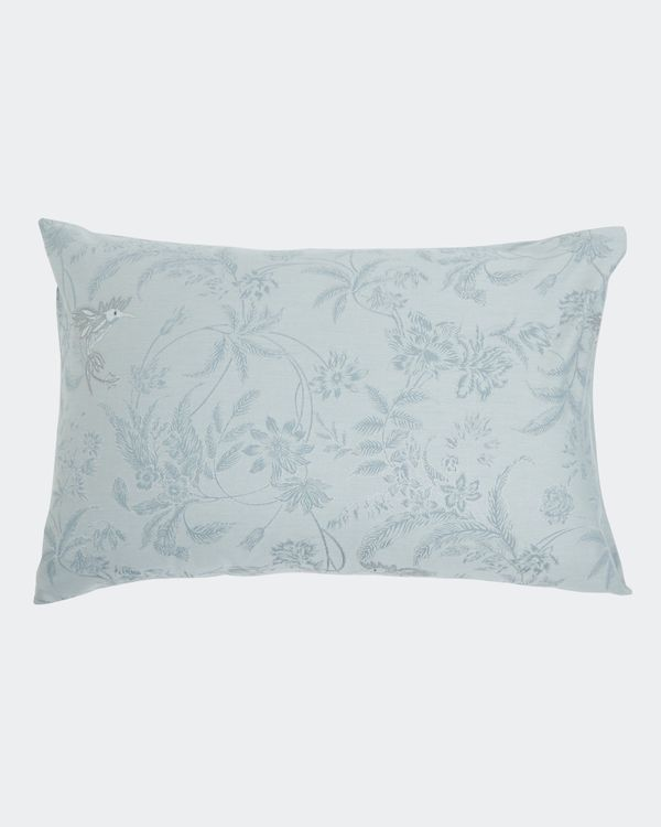 Bird Jacquard Standard Pillowcase - Pack of 2