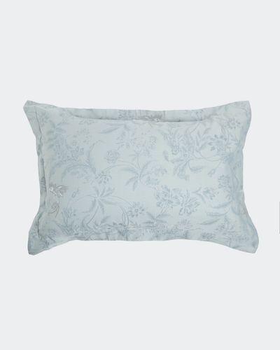 Bird Jacquard Oxford Pillowcase