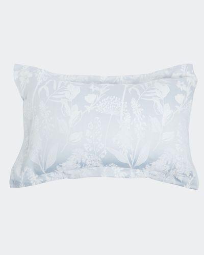 Floral Jacquard Oxford Pillowcase