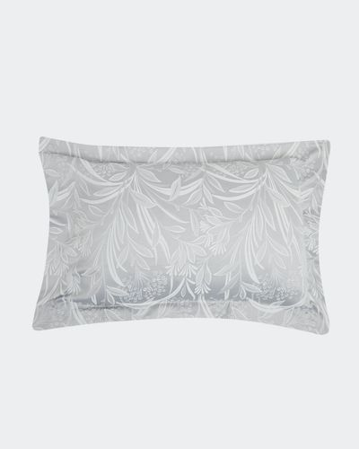 Leaf Jacquard Oxford Pillowcase