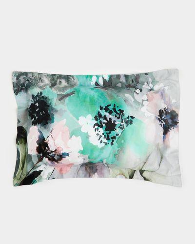 Abstract Floral Oxford Pillowcase