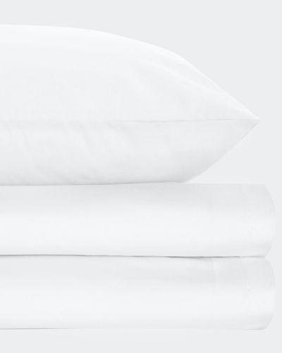 Non Iron Percale King Pillowcase 180 Thread Count  thumbnail