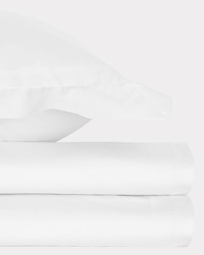 Non Iron Percale Oxford Pillowcase 180 Thread Count - Pack Of 2