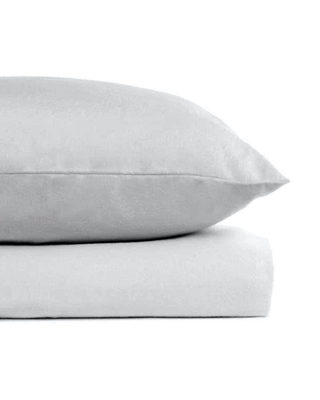 Pure Cotton Flannelette Pillowcase Pack Of 2