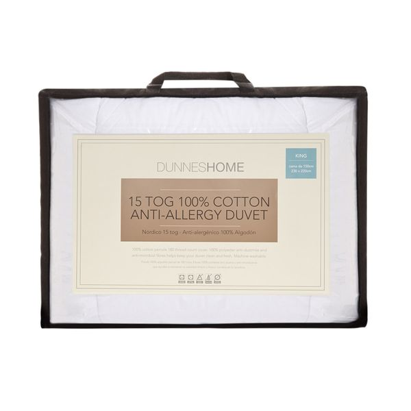 15 Tog Anti Allergy Duvet - King