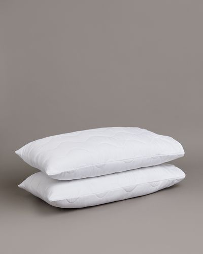 Microfibre Pillow Protectors - Pack Of 2