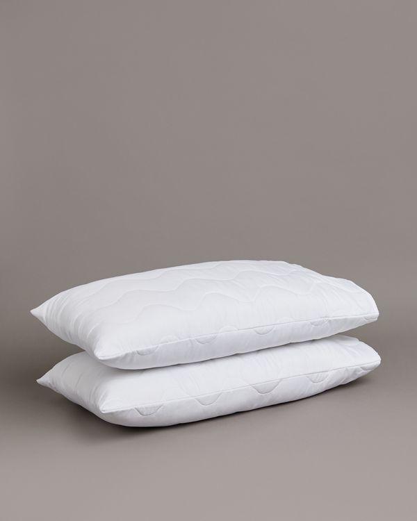 Microfibre Pillow Protectors - Pack Of 2