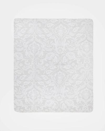 Floral Jacquard Bedspread