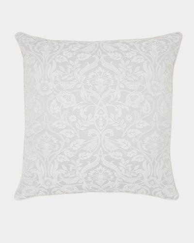 Floral Jacquard Euro Cushion
