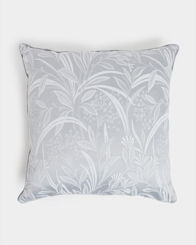 Leaf Jacquard Euro Cushion