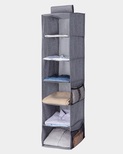 6 Hanging Shelf Storage