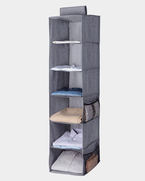 6 Hanging Shelf Storage