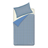 blue Noah Flannel Duvet Set