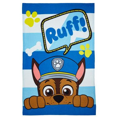Paw Patrol Fleece Throw