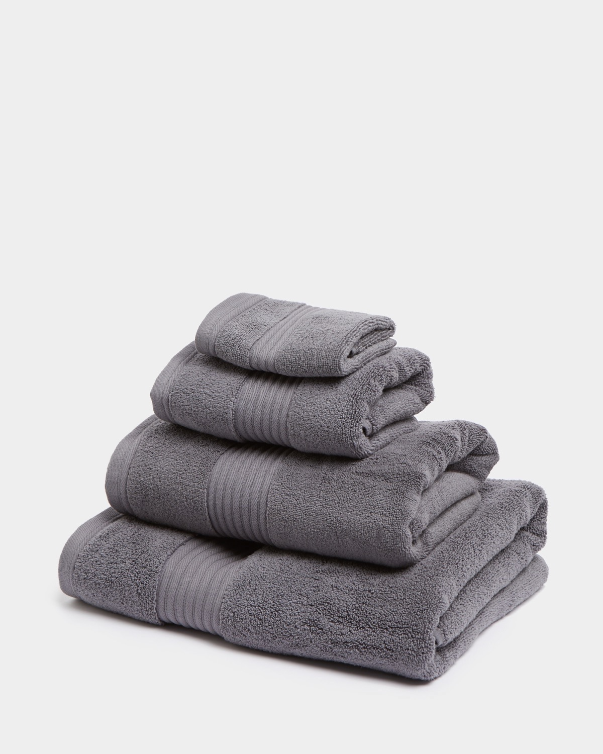 Dunnes Stores Charcoal Ultimate Luxury Bath Towel