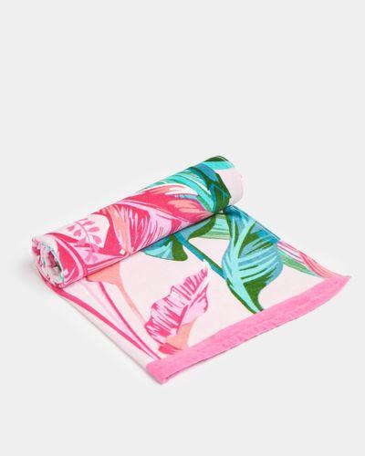 Printed Beach Towel thumbnail
