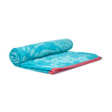 aqua Jacquard Beach Towel