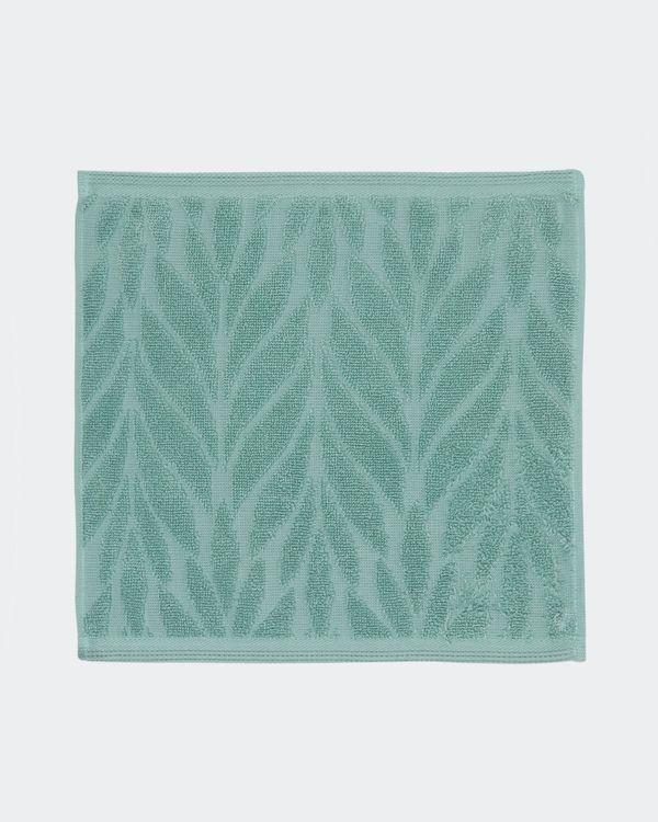 Floral Geo Face Towel