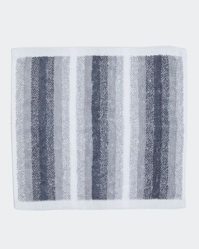 Marl Stripe Face Cloth