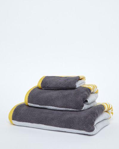 Block Stripe Hand Towel