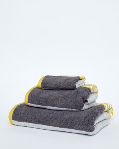 Block Stripe Bath Towel