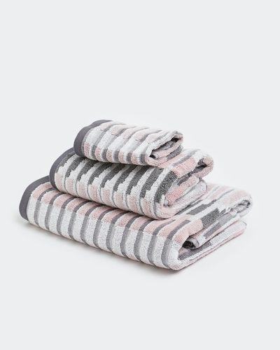Broken Stripe Bath Towel